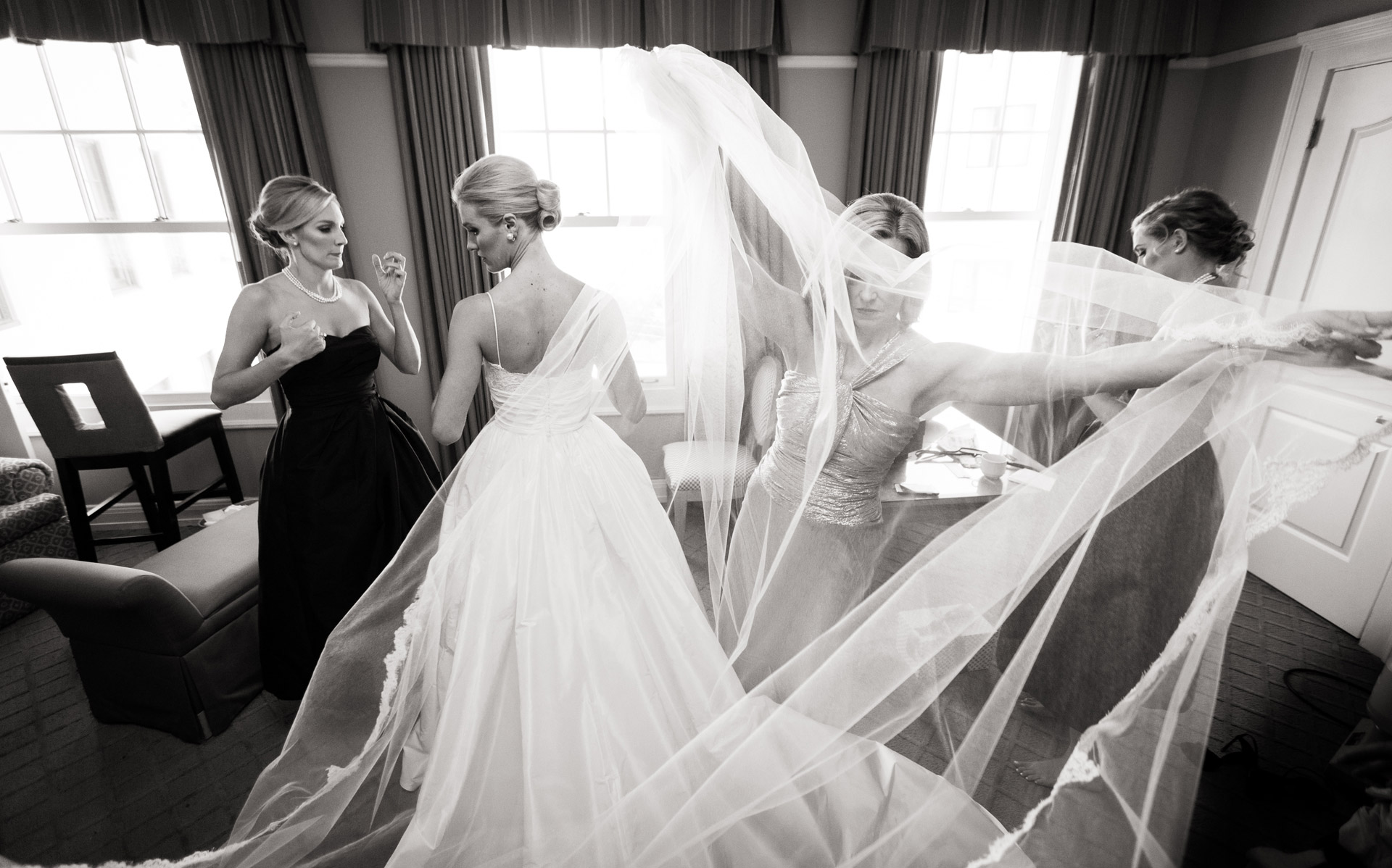 San Diego Wedding Photo of Bride